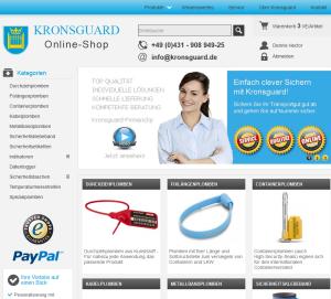 Online-Shop Kronsguard