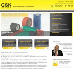 GSK Homepage